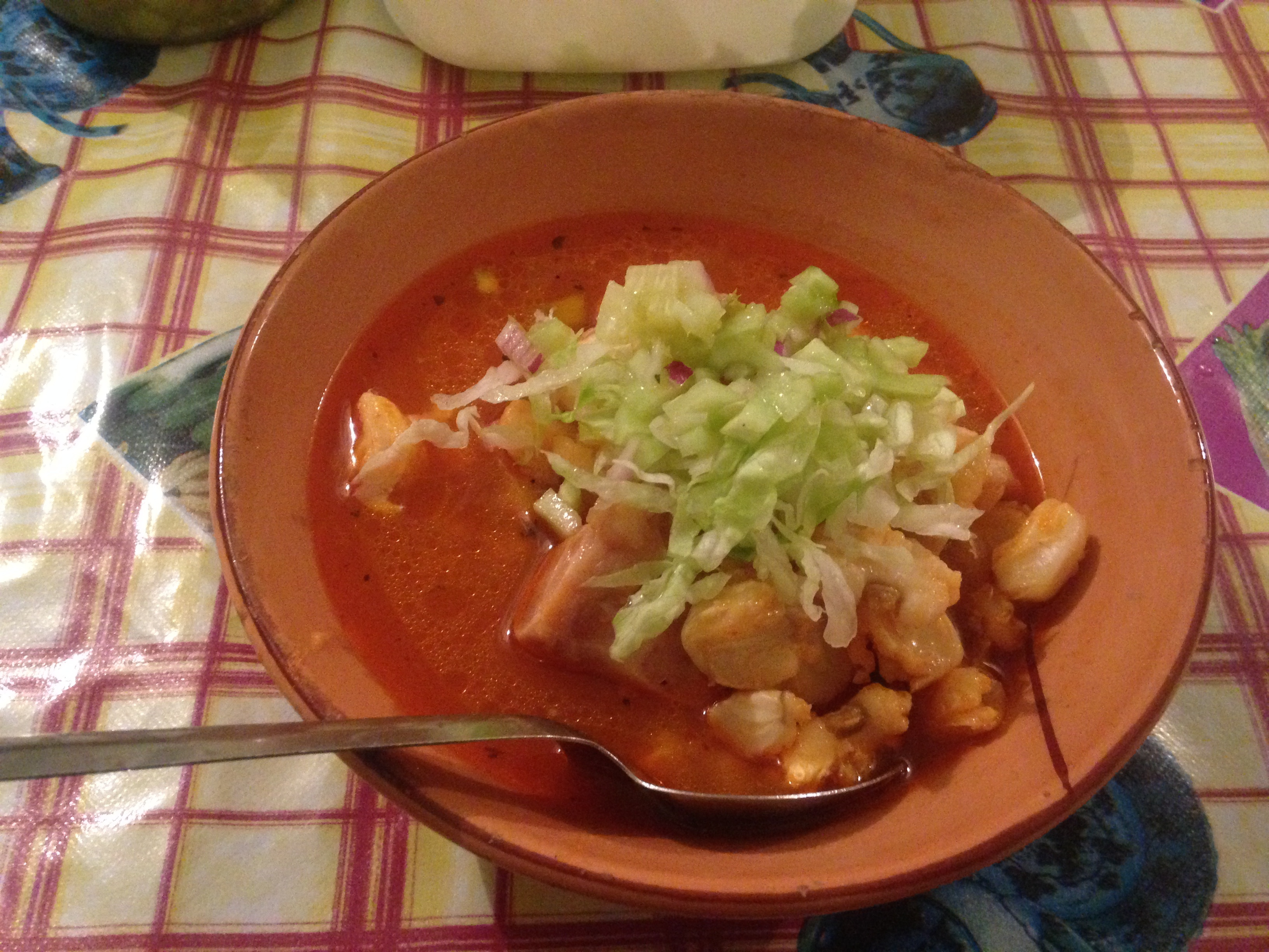 Posole, Traditional Mexican soup