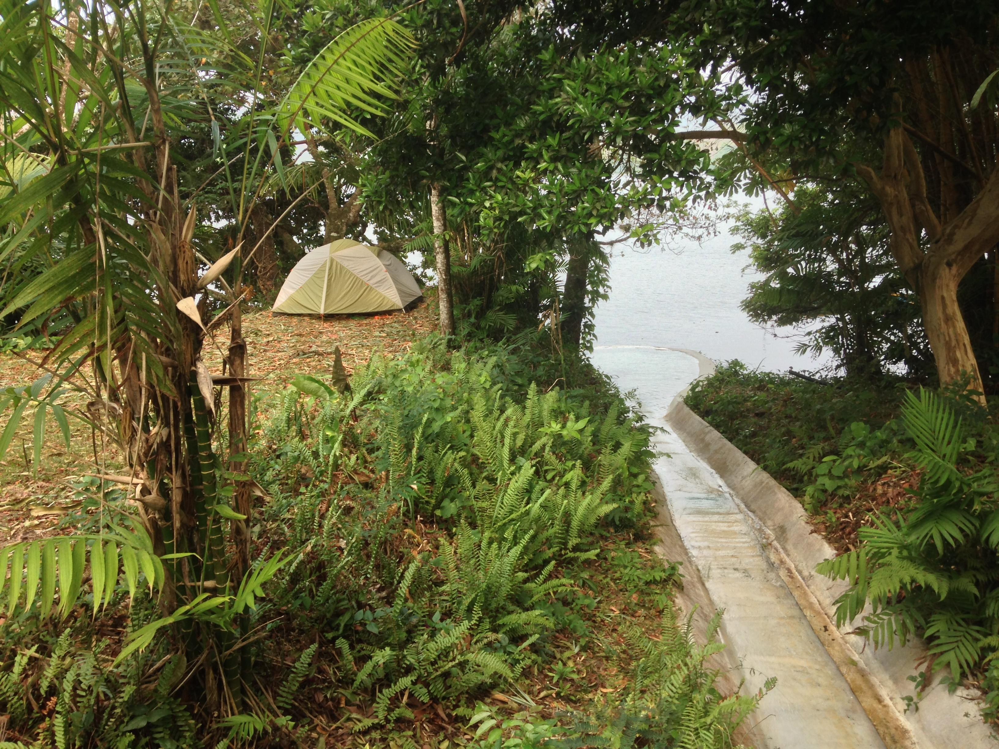 Jungle Camping!