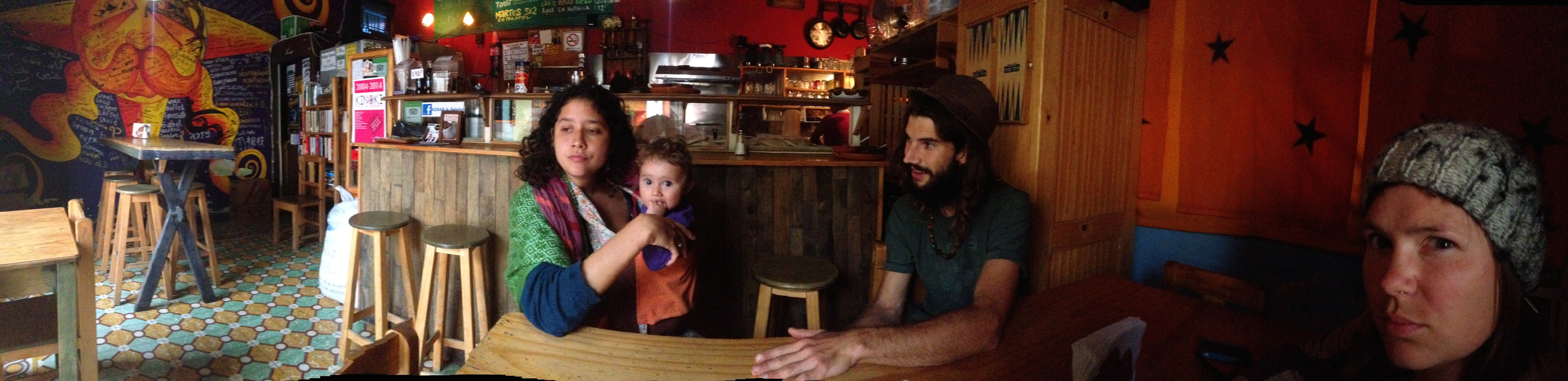 Lander And Family, best falafel I have had