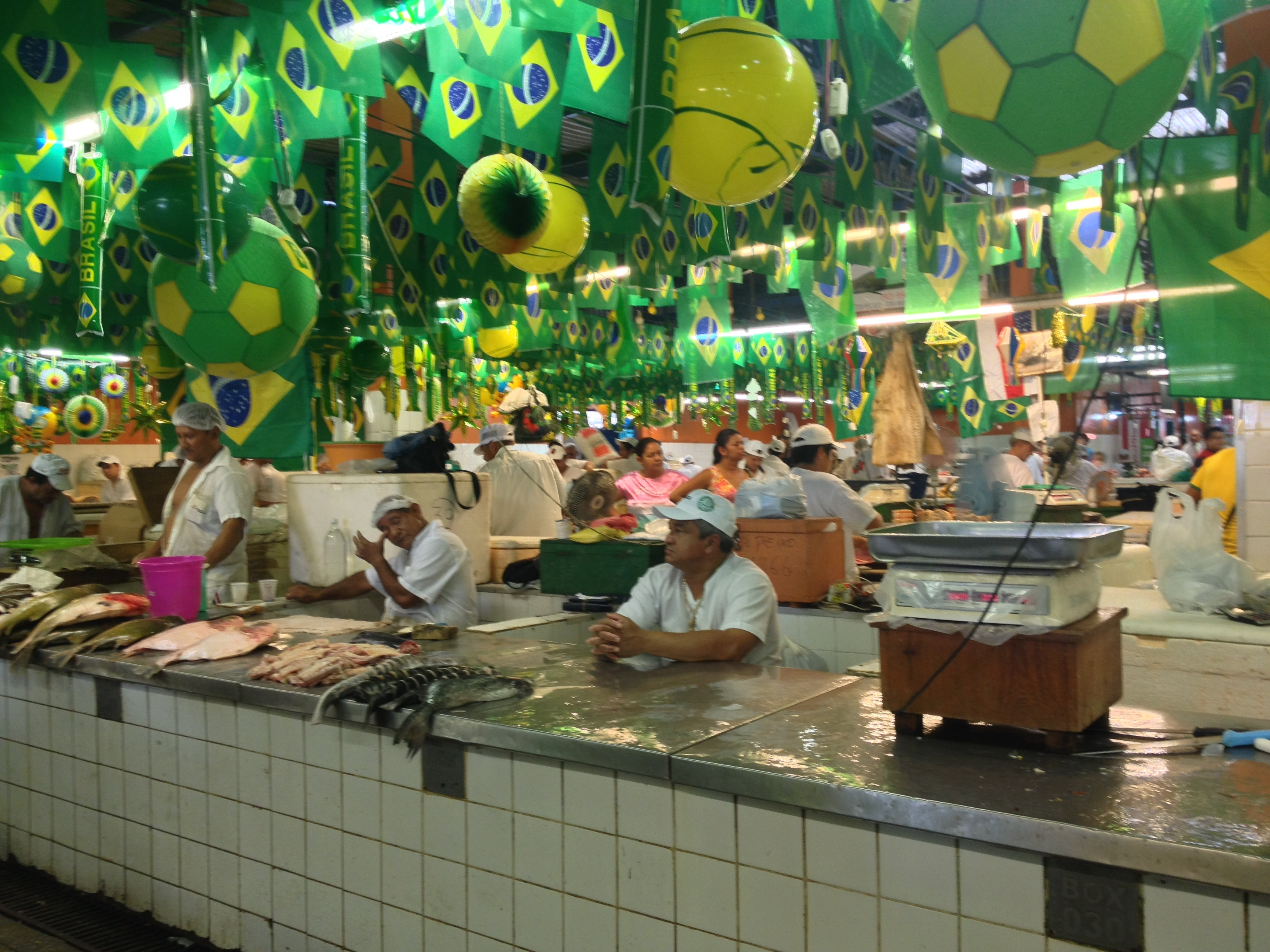 Brazilians are crazy over Brazil