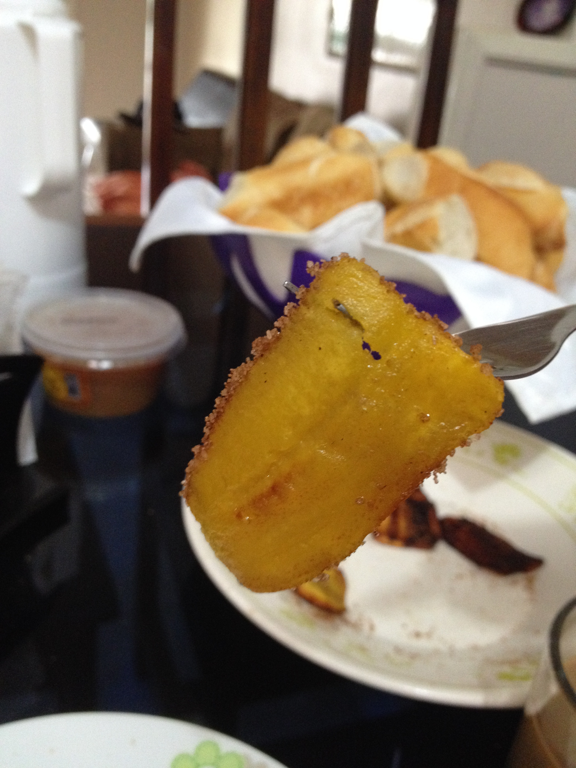 Plantains every morning