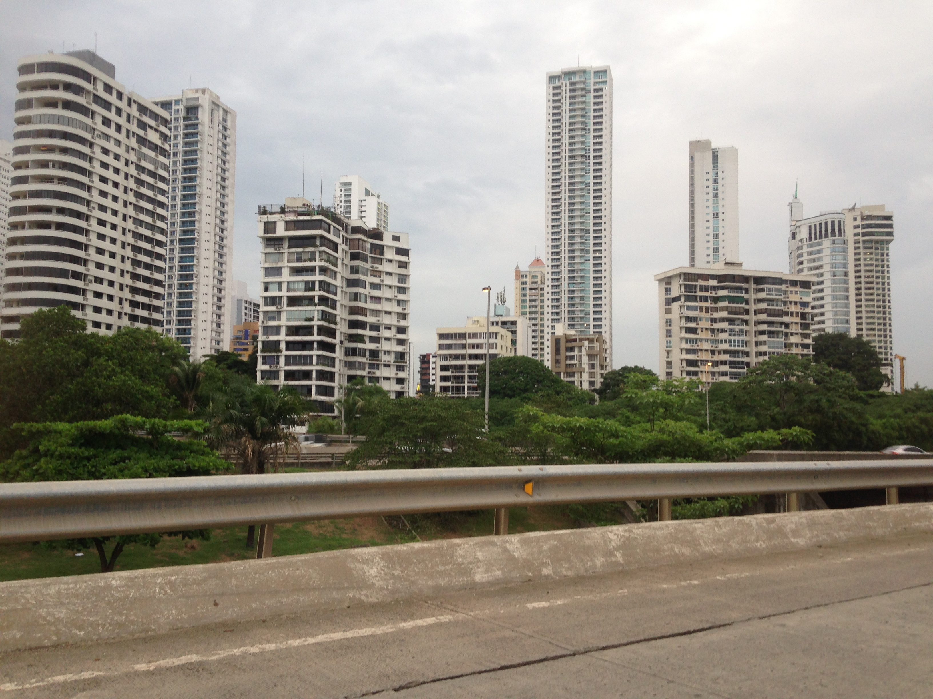 Exiting Panama City