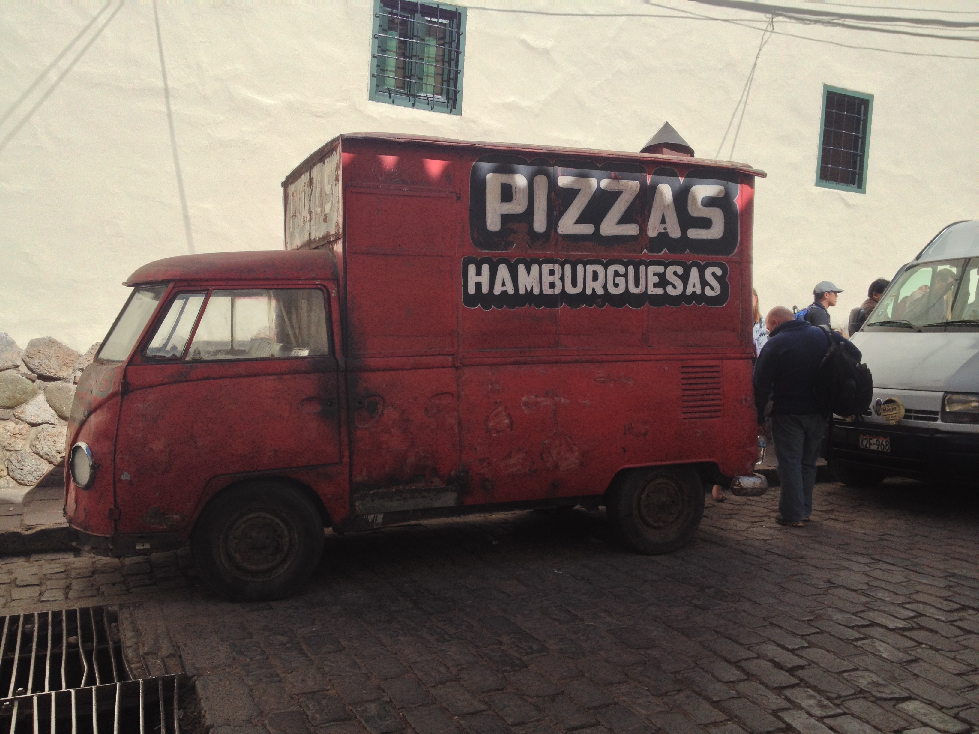 Amazing pizza VW