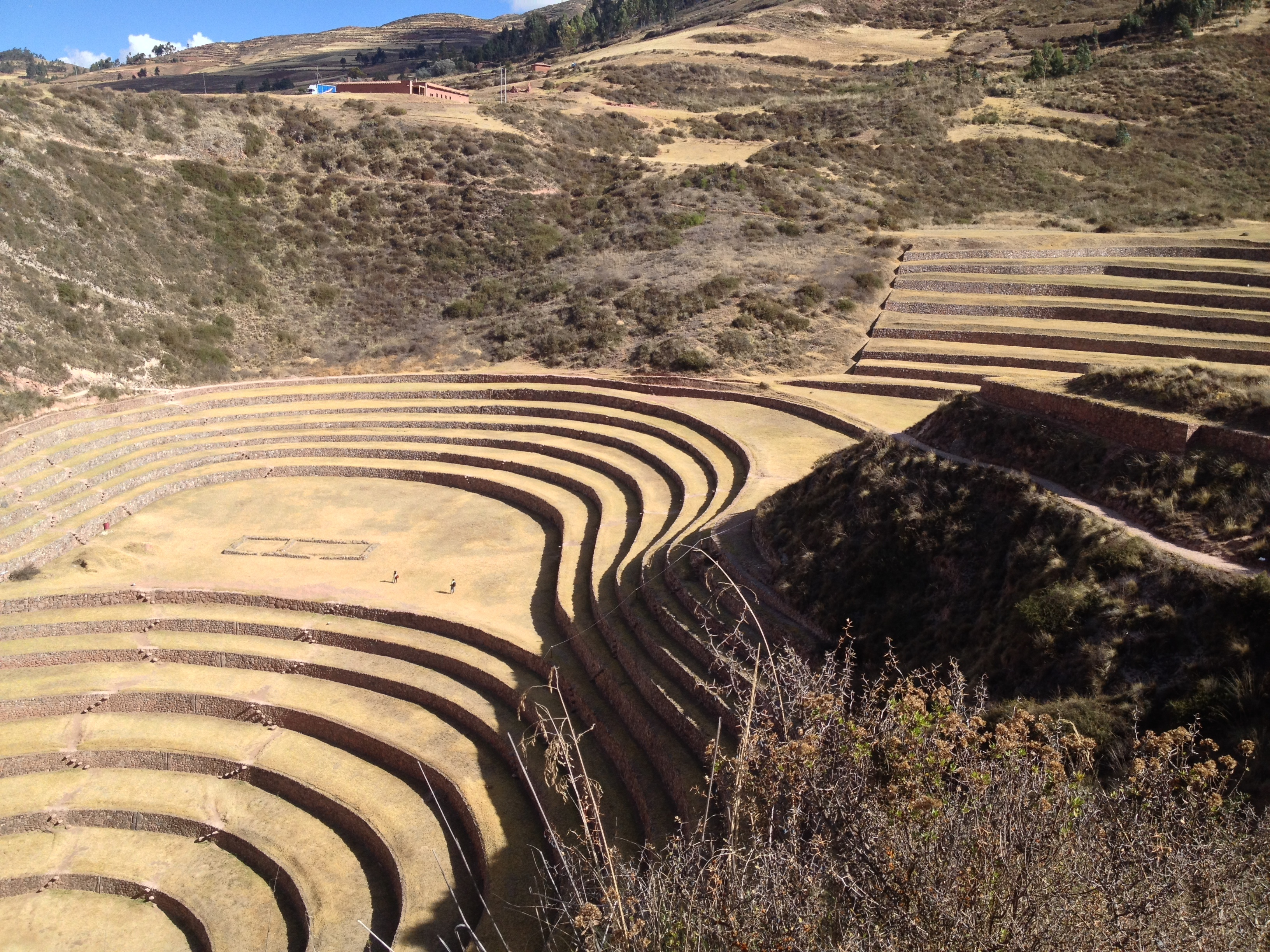 Moray Incan agriculture site.